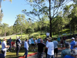 Drivers Briefing Sunday - Mt Cotton Hillclimb