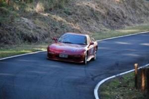 Cameron Hurman (Mazda RX7) Mt Cotton 2011