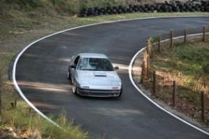 Christopher Sharman (Mazda RX7) Mt Cotton Hillclimb 2011