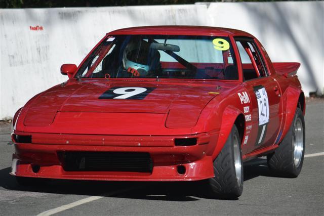 "Scott"" Mazda RX 7 at Noosa Hillclimb"