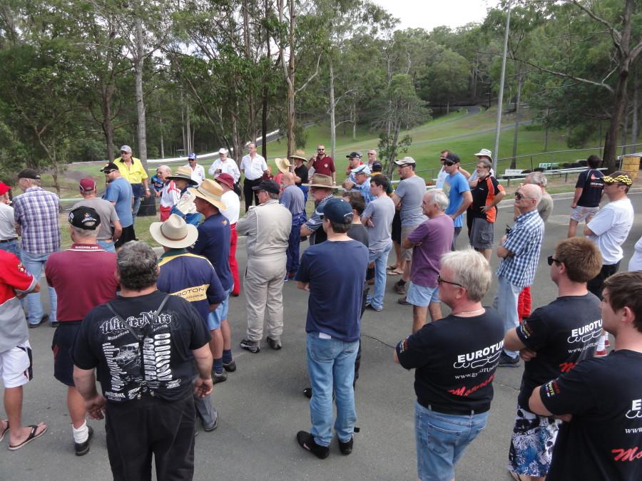 Drivers briefing Mt cotton Hillclimb round 2 – rotaryhillclimbracing.com