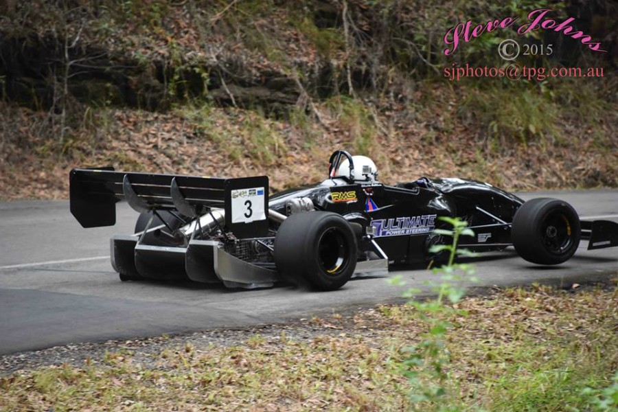 Warwick Hutchinson at Noosa Hillclimb - Photo By Steve Johns No 2