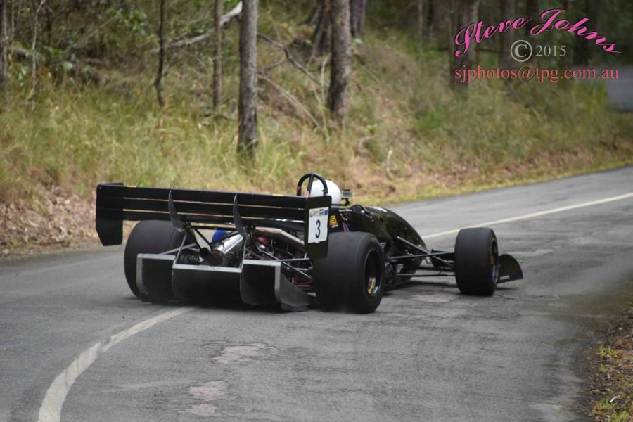 Warwick Hutchinson at Noosa Hillclimb - Photo By Steve Johns No 3