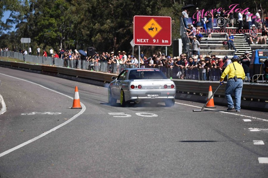 Start Line at Mt Cootha Classis photo by Steve Johns